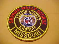 SALINE COUNTY MO.   POLICE PATCH