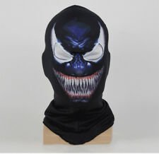 Venom Costume Hood Mask For Spider-Man Adult Halloween Cosplay Face Mask