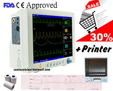CMS7000 vital signs Monitor with Printer 6parameter portable ICU patient monitor