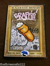 BEER PUMP CLIP - BLACKWATER GRAFFITI