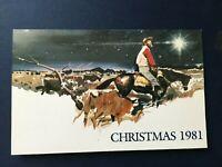 1981 AUSTRALIA POST PRESENTATION PACK CHRISTMAS 1981 3 STAMPS MNH