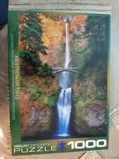 MULTNOMAH FALLS Eurographics 1000 Piece Jigsaw Puzzle Oregon Natural Landmark