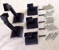Lot of 5 Bose UB-20B Wall Speaker Mount Brackets-Jewel/Other Cube Speakers UB20