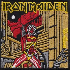 IRON MAIDEN - SOMEWHERE IN TIME - IRON or SEW ON PATCH