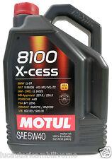OLIO MOTORE MOTUL 8100 X-CESS 5W40 5 litri