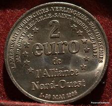 ALLIANCE NORD OUEST  2 EURO TEMPORAIRE DES VILLES 1998 FDC 1082A76