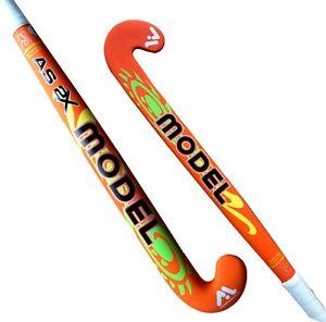 Model Field Hockey Stick AS-2X Mid Bow Profile 70% Carbon Orange Light Weight