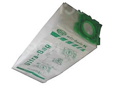GENUINE SEBO K DUST BAGS X 4, 6629ER. ULTRA BAG ALL K MODELS AIRBELT MICROFIBRE