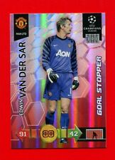 CHAMPIONS LEAGUE 2010-11 Panini 2011 -Card Goal Stopper- VAN DER SAR - MAN UTD