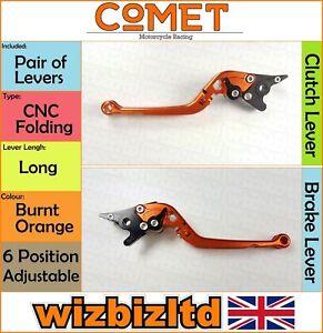 Moto Guzzi Audace 1400 2015 [Pliable Long Orange] [ Comet Réglable Course