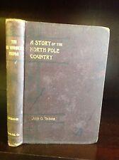 THE KE WHONKUS PEOPLE- Lost Race Fantasy Novel - John O. Greene-1893