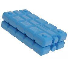 Paquete De 2 bloques de congelador para cajas de hielo bolsas Cool Nuevo Azul picnics almuerzo de viaje