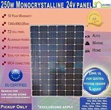 250 Watt 24v Monocrystalline Solar Panel 250W - PICK UP