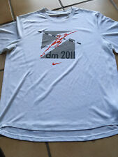 Sportshirt Laufen Herren Nike Dri fit Größe L, DM 2011 DLV Leichtathletik