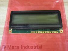 Vecima PC1602G-P2 Powertip LCD Module Type PC1602LRF-GWA-CYRQ