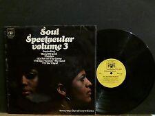 SOUL SPECTACULAR VOLUME 3  Various  LP    Elton John session work    RARE !