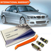 BMW 3er E46 Sedan Coupe LED Interior Set Premium SMD Bulbs White Error Free
