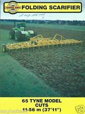 Farm Equipment Brochure - Connor Shea - Folding Scarifier Seeder (F3317)