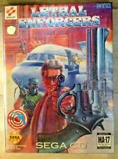 Lethal Enforcers with Justifier Gun SEGA CD -BRAND NEW SEALED-