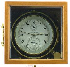 A. Lange & Söhne marine cronómetros con 2. chasis de madera, extremadamente raro, Cal. 100