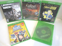 XBOX ONE Bundle 5 Games FALLOUT NEW VEGAS - NEW Sealed, RAINBOW SIEGE, FALLOUT 4