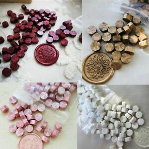 32-34g Sealing Wax Beads 1bag Multi Color Wax Seal Tablet Granular Grain Seal St