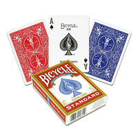 Bicycle STANDARD index playing cards 1Deck Red or Blue Poker Magic tricks NEW US