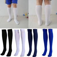 Fußball Stutzen Stutzenstrumpf Socken Stutzenstrümpfe Elastisch-Lang D2J4