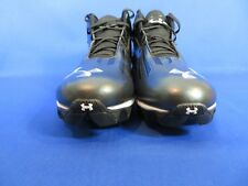 Under Armour Mens Football Cleats 1235040-001 Black Mid Armour Bound Size 16