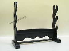 Samurai Japanese sword Nihontou Katana Exhibition Display rack stand Free Ship