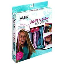 Light and Glow Hair Clip Ons Alex Spa 62210-3