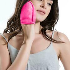 10 x Mini Facial Cloths Reusable Face Microfiber Towel Makeup Remover Cleansing