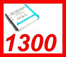 "★★★ ""1300mA"" BATTERIE Lithium ion ★ KODAK Playsport ZX3 / KLIC 7004"