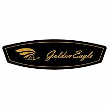 C-GEYE CESSNA GOLDEN EAGLE YOKE EMBLEM (PAIR)