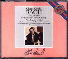 Glenn Gould: Bach 6 Piano Concerto & the art of Fugue (organo) CBS 2cd Golschmann