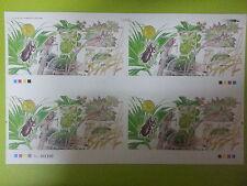 Malaysia Stamp Week 1998 Serangga-serangga Miniature Sheet  4 in 1 UNCUT (Rare)
