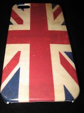 British Flag Hard Cover Case for iPhone 5 5s British Uk Flag Vintage Look