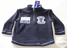 Geelong Cats AFL Boys Navy Warm Fleece Top Size 4 New