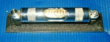 "Starrett Machinists Level # 98 with Ground and Graduated Vial 4"" Length PERFECT"