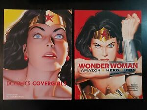 DC Comics COVERGIRLS & WONDER WOMAN AMAZON Hero Icon: Soft Cover Book lot