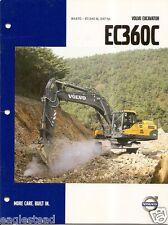 Equipment Brochure - Volvo - Ec360C - Excavator - c2007 (E1960)