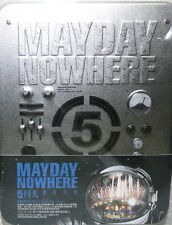 Mayday NOWHERE MOVIES Taiwan Blu-ray Disc (BD-3D) +Live in Live DVD