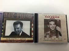 Ray Price 2 CD Lot Country Music All American Country The Essential Ray Price VG