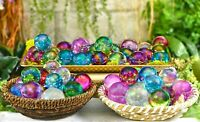 Aura Rainbow Quartz Orb Sphere Marble