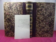LA NORMANDIE Jules Janin + une lettre autographe de Jules Janin 1861