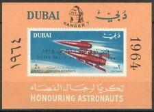 Dubai 1964 ** Bl.29 Weltraum Space Mond Moon Sonde Orbiter Ranger 7 Astronautics