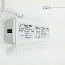 45W 14.5V 3.1A AC L-tip Adapter Charger A1374 A1274 A1244 A1370 MB283LL/A U