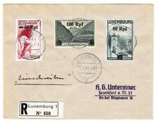Luxembourg German Occupation-Sc#N30-32(HiVa lues)-Luxembourg 17/2/41