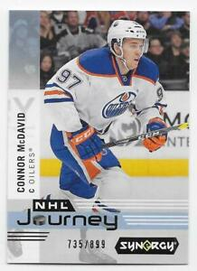 19/20 UPPER DECK SYNERGY NHL JOURNEY BLUE /899 (#NP1-NP10) U-Pick From List