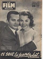 french magazine LE FILM COMPLET N°587 francois patrice burt lancaster 1956